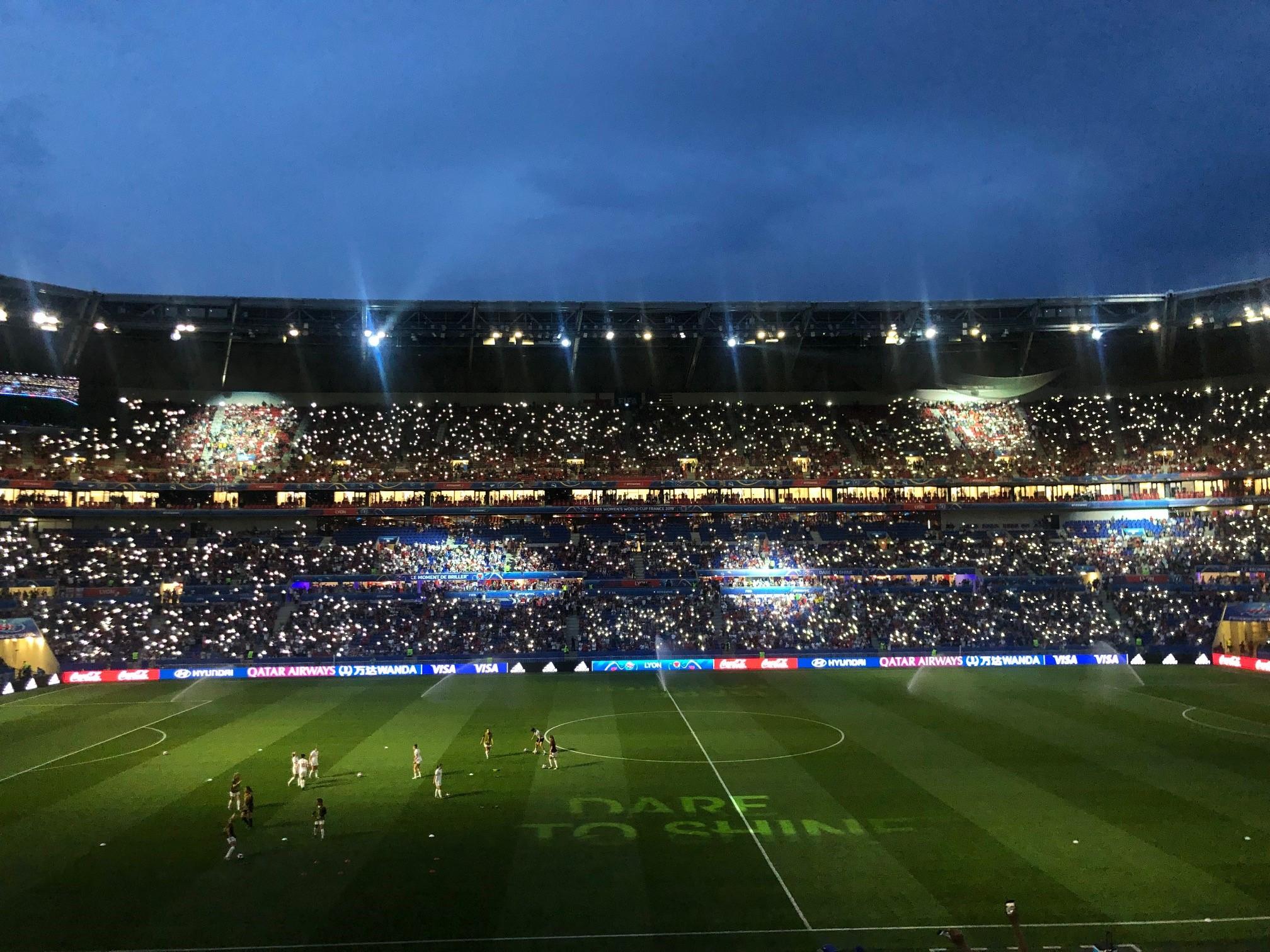 Women's World Cup, Lyon, France